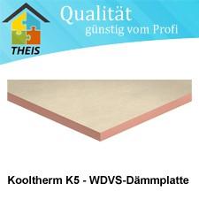 Kooltherm K5 - WDVS-Dämmplatte - 20 bis 120 mm