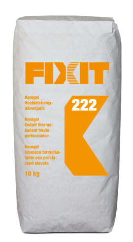 HASIT Fixit 222 Aerogel Hochleistungsdämmputz K 0-1,4 mm