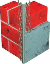 VWS Eckputzprofil Stahl verzinkt 34 x 34 mm für 12 mm Putz-Copy