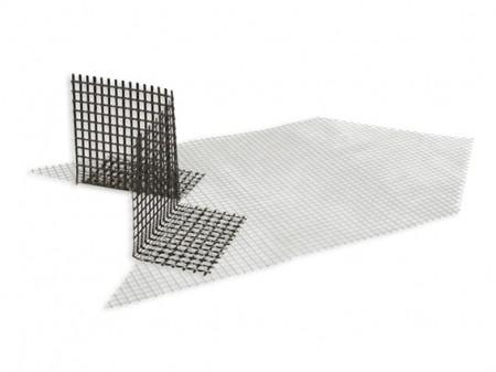 Armierungsecken für Diagonalarmierungen an Fenster und Türen