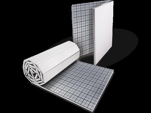 Multidämmplatte/- rolle für Fußbodenheizung WLG 045