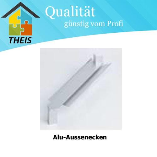 Alu-Aussenecken - 420 mm bis 600 mm