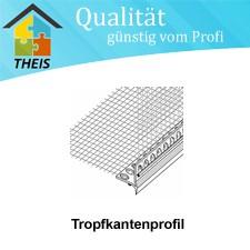 PVC - Tropfkantenprofil mit Gewebe