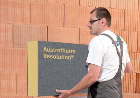 Resol Hartschaum Fassadendämmplatte WLS 022 Austrotherm