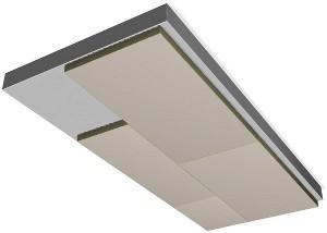 Paroc Kellerdeckenplatte CGS1t / WLS 033 / 50-200 mm