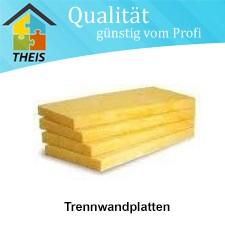 Trennwandplatte TW 1 - 040 - 40 bis 120 mm