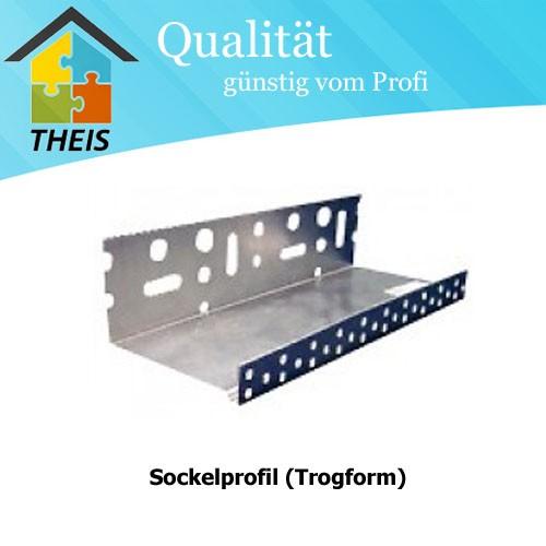Sockelprofil (Trogform)
