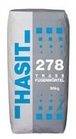 Hasit 278 Trassbruchstein- Fugenmörtel 4 mm naturfarben