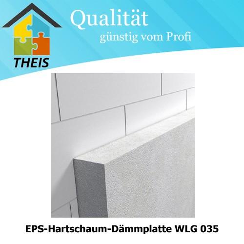 Fassaden Dämmplatte EPS / WLS 035 - 20 bis 240 mm