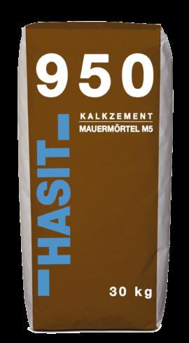 Hasit 950 Kalkzementmauermörtel M 5