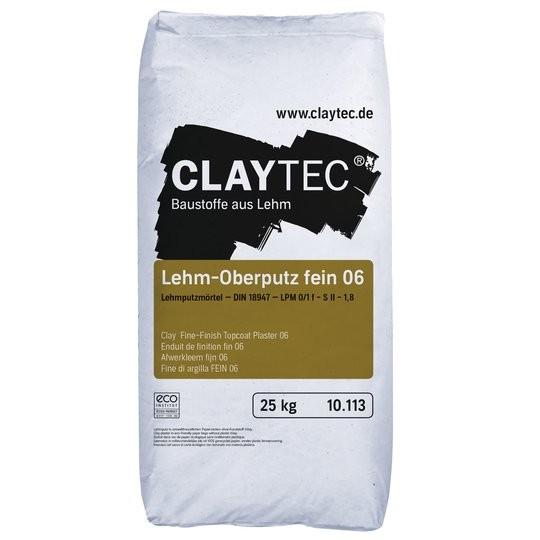 Claytec Lehm Oberputz fein 06