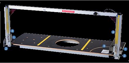Styroporschneidegerät inkl. 24 V oder 40 V Trafo