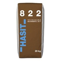 Hasit 822 Wärmedämm-Mauermörtel LM 21