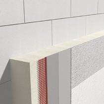 Polyurethan Fassadendämmplatte / 40 bis 240 mm / 40 mm
