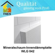Mineralschaum-Innendämmplatte WLG 042