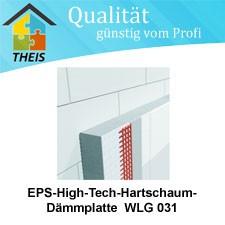 EPS-High-Tech-Hartschaum-Dämmplatte WLG 031