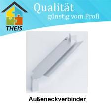 Aluminium-Außeneck-Verbinder 90° - 50 mm bis 400 mm