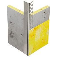 VWS Lichtensteiner Eckprofil einseitig gelocht Alu blank 23,5 x 23,5 mm