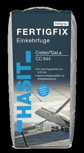 Hasit Creteo GaLa CC 644 Fertigfix-Einkehrfuge hellgrau