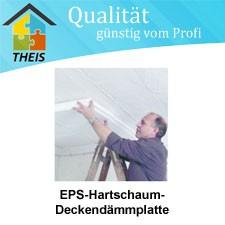 EPS-Hartschaum-Deckendämmplatte - 50 bis 120 mm