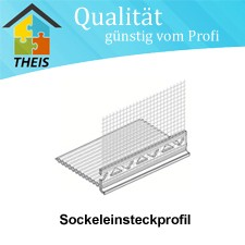 SockeleinsteckprofiI WDVS 80 mm