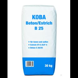 KOBA Estrich Beton