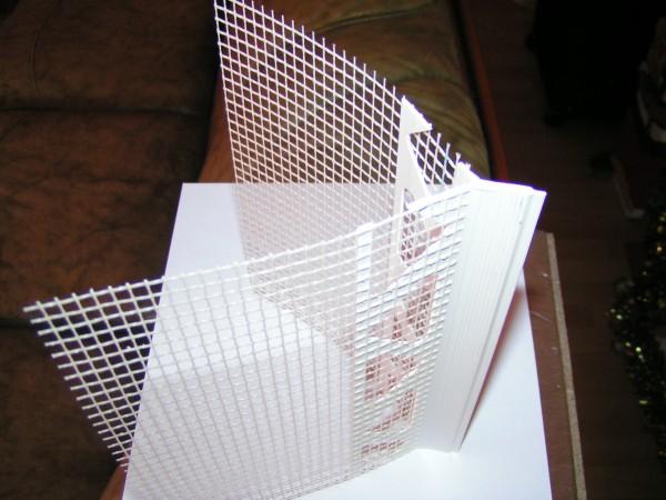 Kantenrichtprofil PVC 14 mm