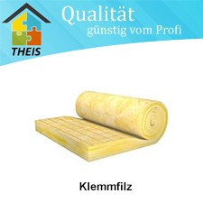 Klemmfilz KF 2 - WLS 035 / 100 bis 260 mm