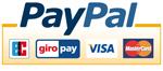 Bezahlen mit Paypal, Kreditkarte, Lastschrift